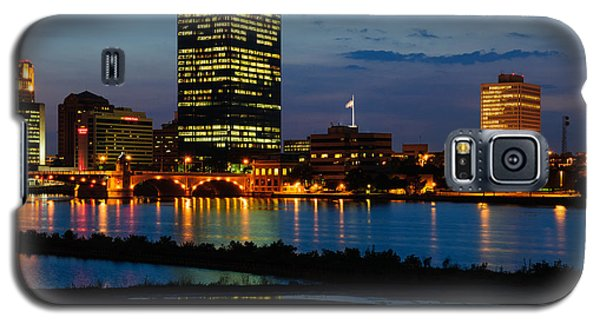 D12u152 Toledo Ohio Skyline Photo Galaxy S5 Case