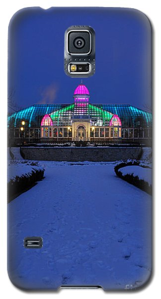 D5l287 Franklin Park Conservatory Photo Galaxy S5 Case
