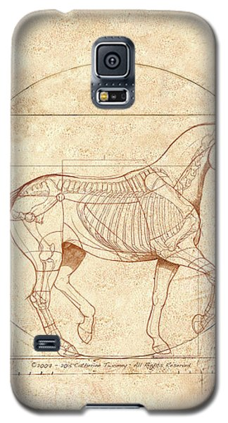 da Vinci Horse in Piaffe Galaxy S5 Case