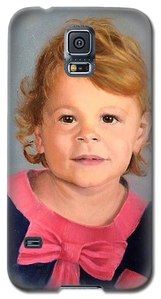 Galaxy S5 Case featuring the painting Daddy's Girl by Lori Ippolito