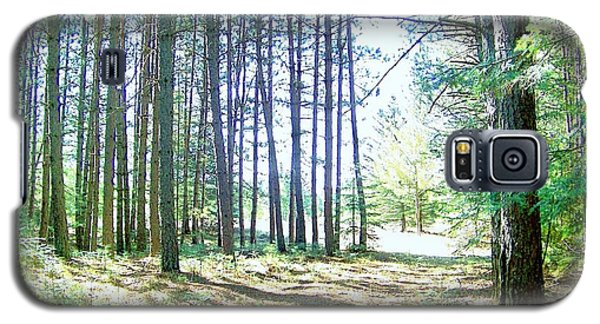 Galaxy S5 Case featuring the photograph Dad's Woods I by Shirley Moravec
