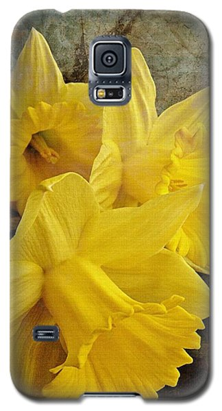 Galaxy S5 Case featuring the photograph Daffodil Burst by Diane Alexander