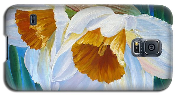 Daffodils Narcissus Galaxy S5 Case
