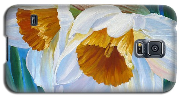Daffodils Narcissus Galaxy S5 Case