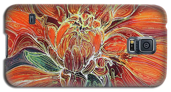 Dahlia Floral Abstract  Galaxy S5 Case