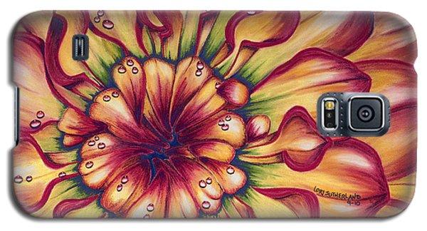Dahlia Rainbow Galaxy S5 Case