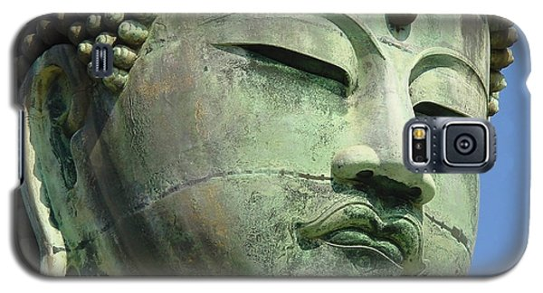 Galaxy S5 Case featuring the photograph Daibutsu 1 by Larry Knipfing