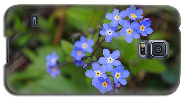 Dainty Blue Galaxy S5 Case