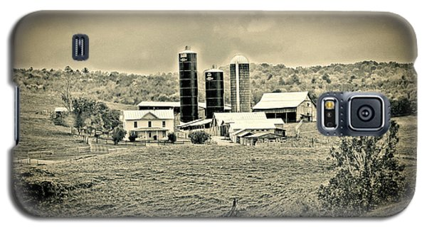 Galaxy S5 Case featuring the photograph Dairy Farm by Denise Romano