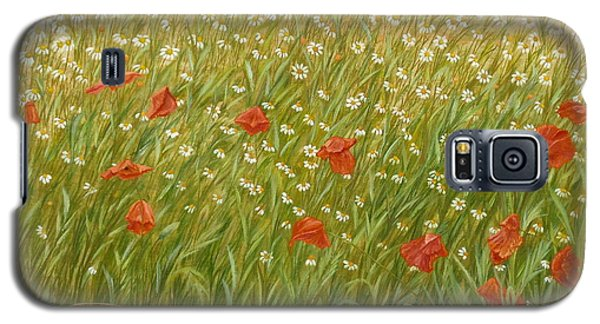 Daisies And Poppies Galaxy S5 Case