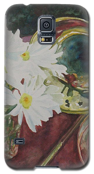 Daisies Bold As Brass Galaxy S5 Case by Jenny Armitage
