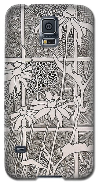 Daisies In A Window Galaxy S5 Case