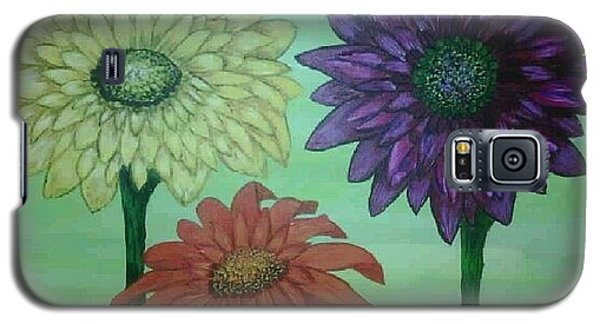 Daisies Galaxy S5 Case by Valorie Cross