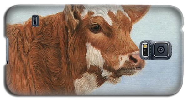 Cow Galaxy S5 Case - Daisy by David Stribbling