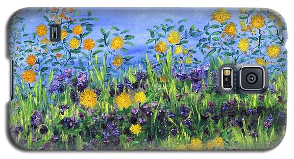 Daisy Days Galaxy S5 Case by Regina Valluzzi