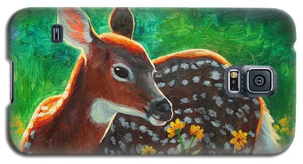 Daisy Deer Galaxy S5 Case by Crista Forest
