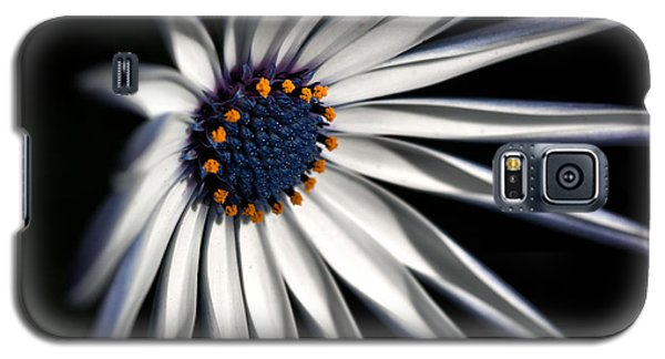 Galaxy S5 Case featuring the photograph Daisy Heart by Joy Watson