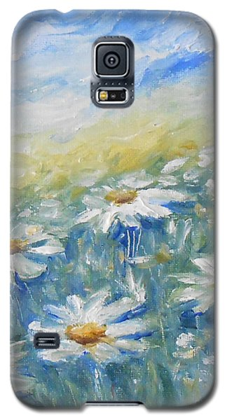 Daisies Galaxy S5 Case by Jane  See