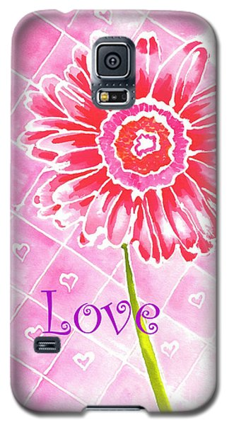 Daisy Loves Love Galaxy S5 Case by Terry Taylor