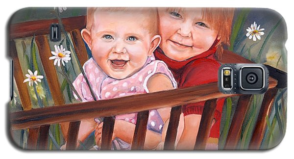 Daisy - Portrait - Girls In Wagon Galaxy S5 Case