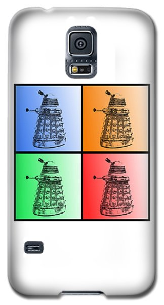 Dalek Pop Art Galaxy S5 Case by Richard Reeve