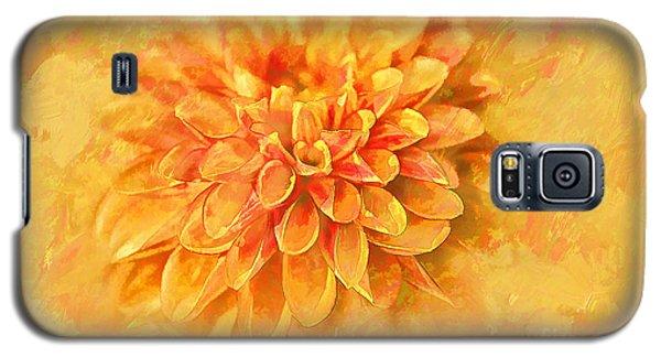 Dalhia Abstract Galaxy S5 Case by Linda Blair