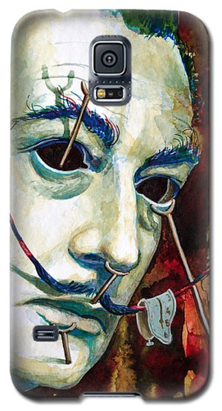 Galaxy S5 Case featuring the painting Dali 2 by Laur Iduc