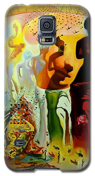 Bull Galaxy S5 Case - Dali Oil Painting Reproduction - The Hallucinogenic Toreador by Mona Edulesco