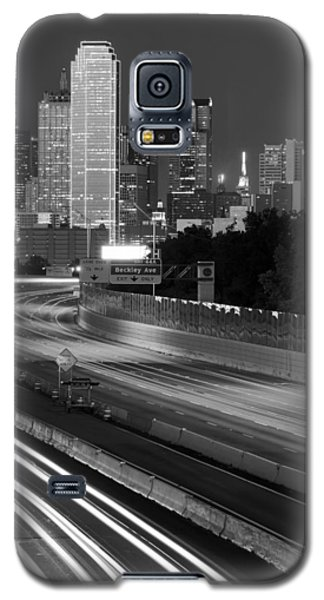Dallas Arrival Bw Galaxy S5 Case