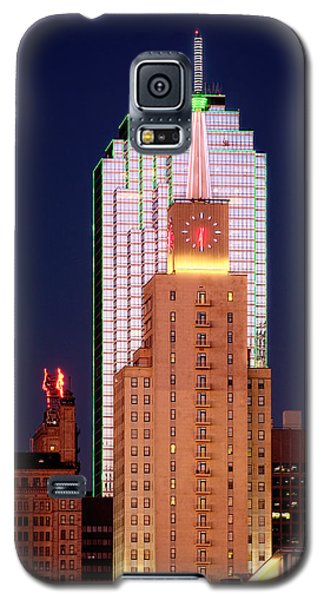 Dallas At Dawn Galaxy S5 Case by David Perry Lawrence