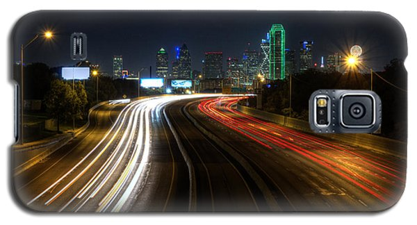 Dallas Night Light Galaxy S5 Case