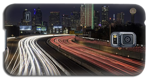 Dallas Night Galaxy S5 Case by Rick Berk