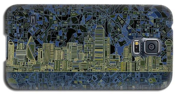 Dallas Skyline Abstract 2 Galaxy S5 Case