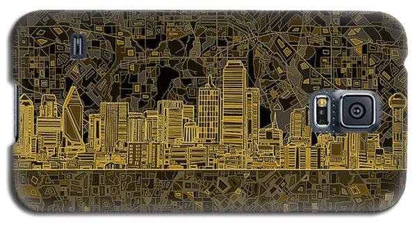 Dallas Skyline Abstract 3 Galaxy S5 Case