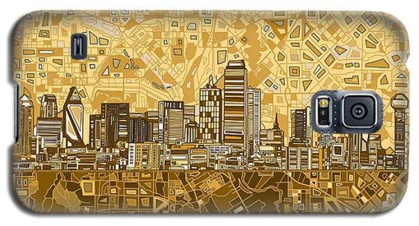 Dallas Skyline Abstract 6 Galaxy S5 Case