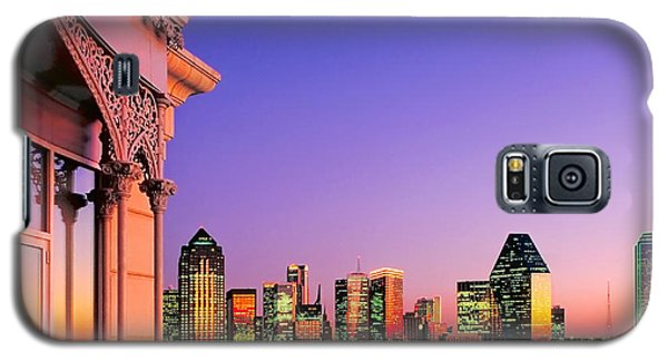 Dallas Skyline At Dusk Galaxy S5 Case