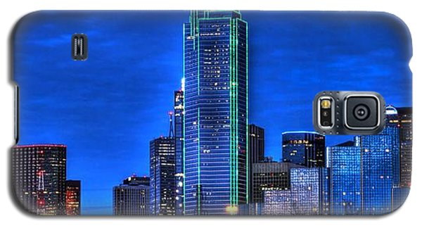 Dallas Skyline Hd Galaxy S5 Case
