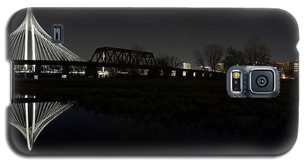 Dallas Skyline Hunt Bridge Color Galaxy S5 Case