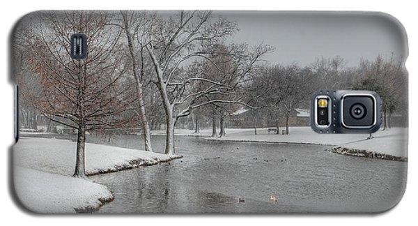 Dallas Snow Day Galaxy S5 Case