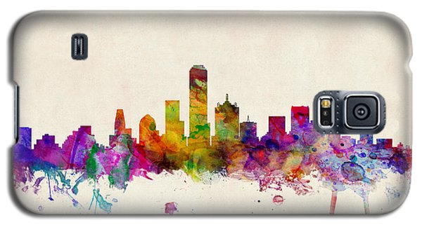 Dallas Texas Skyline Galaxy S5 Case
