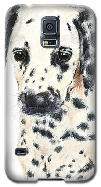 Dalmatian Puppy Painting Galaxy S5 Case