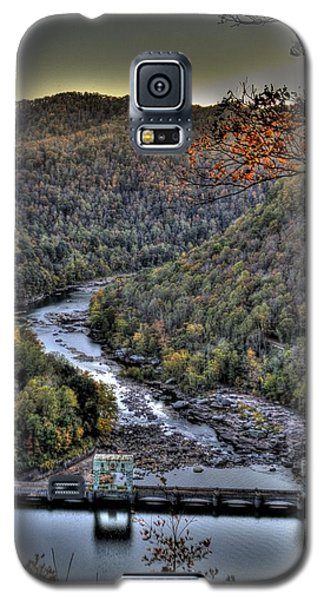 Galaxy S5 Case featuring the photograph Dam In The Forest by Jonny D
