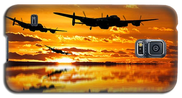 Dambusters Avro Lancaster Bombers Galaxy S5 Case
