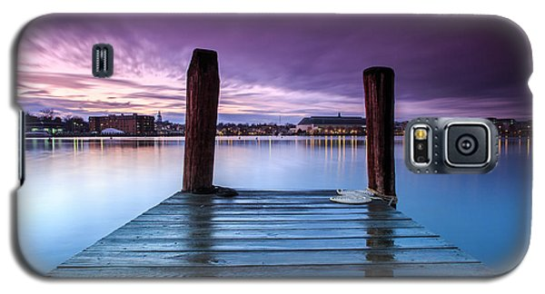 Damp Sunset Galaxy S5 Case