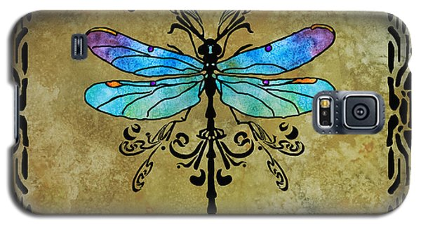 Damselfly Nouveau Galaxy S5 Case