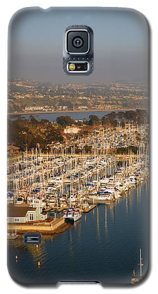 Galaxy S5 Case featuring the photograph Dana Point Harbor by James Kirkikis