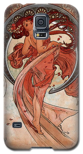 Dance Galaxy S5 Case by Alphonse Maria Mucha