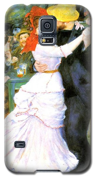 Dance At Bougival Galaxy S5 Case by Pierre Auguste Renoir