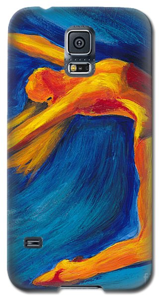 Galaxy S5 Case featuring the painting Dance by Denise Deiloh