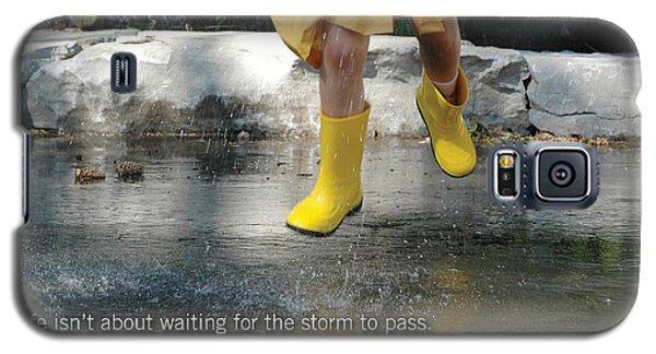 Dance In The Rain Galaxy S5 Case